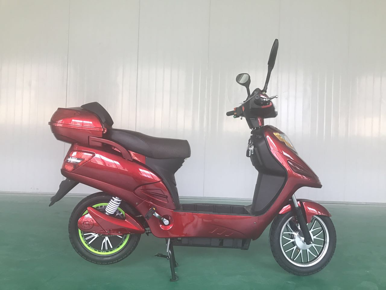 Steady Double Support Electric Motorcycle