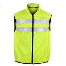 Men′s High Vis Reflective Running Gilet Bib Vest