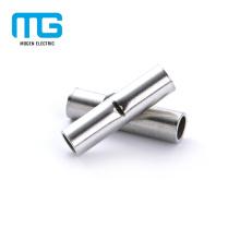 Terminaux de connecteurs bout à bout non isolés en cuivre de taille multiple