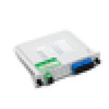 Epon gpon оптический соединитель FTTh 1 * 4 оптоволоконный разветвитель PLC, 1x8 карта кассеты LGX Box Inserting PLC splitter