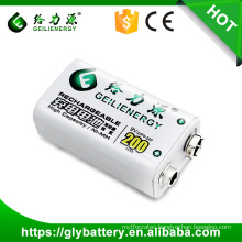 9V 200mAh 23F6-220 Rechargeable Battery For Measuring Meter Make In China