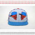 Мода Фиолетовый Snakback 5 Панели Шляпы