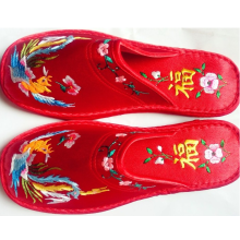 Hand Broderade Lovers Slipper