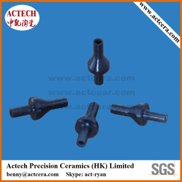 Customized Machining Black Ceramic Nozzle Tips