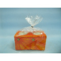 Pumpkin Candlestick Shape Ceramic Crafts (LOE2362-11.5z)