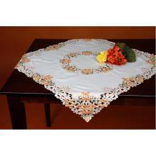 Toalhas de mesa de bordado Handmade Cutworks Fh233