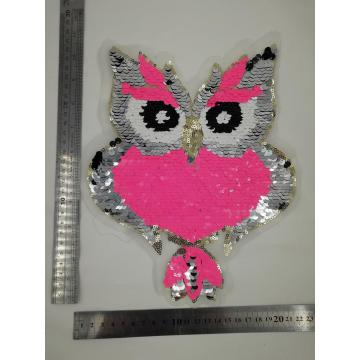 High quality owl  reversible patches