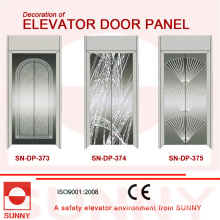 St. St Mirror Door Panel for Elevator Cabin Decoration (SN-DP-373)
