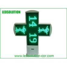 Outdoor LED Pharmacy Cross for Advertising Display with CE