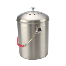 1Gallon Stainless Steel 201 Kitchen Composter