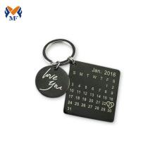 Amazon personalized calendar keychain for graduation