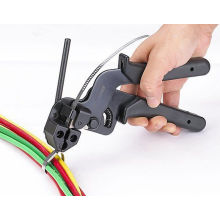 Arma de aço inoxidável do laço do cabo para o material 201/304/316