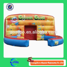 inflatable clown bouncer performance hall clown cube for sale
