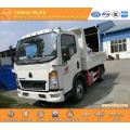 SINOTRUK HOWO 4X2 115hp light dump truck