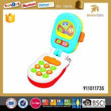 2016 cartoon baby smart phone toy