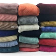 Haute qualité en gros femmes mode maxi Musulman hijab écharpe coton froissé plissé hijab