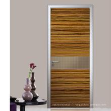 Porte en bois extérieure de luxe
