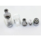straight tube glass replacement glass atomizer