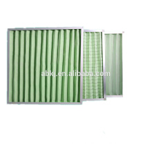 High Dust Holding Capacity G4 Washable Material Pleated Panel Air Filter