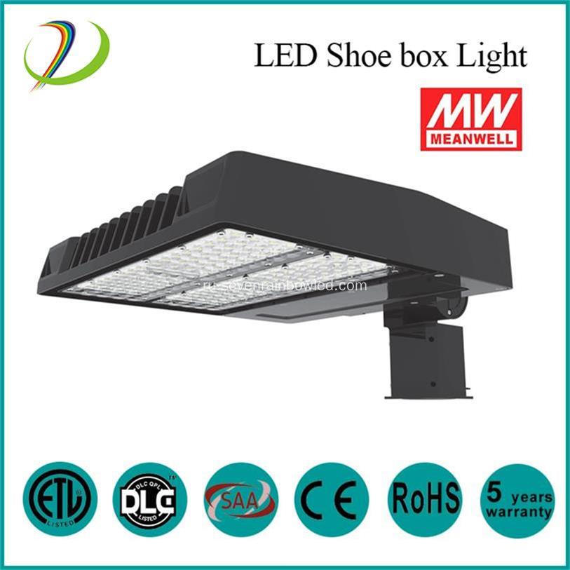 100W DLC ETL LED Shoe Box light
