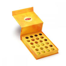 Caixa de embalagem de cartão de chá criativo