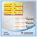 Plastic VIP IC ID Smart Card