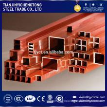 copper square tube / copper square pipe