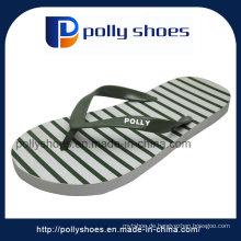 Weiße hochwertige Sommer Männer Thong Sandalen Flip Flop