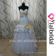 RSW83 vestidos de novia falda extraíble