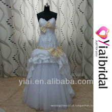 RSW83 vestidos de casamento saia removível