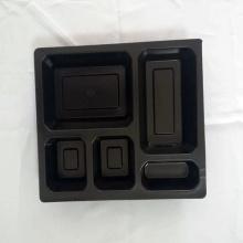 Contenedores de comida de plástico desechables para llevar lonchera