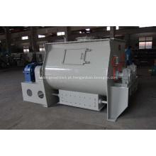 Máquina de mistura de pá de eixo duplo horizontal