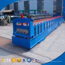 Easy operation customized thickness floor panel forming machine