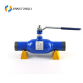 china manufacturing JKTL carbon steel trunnion mounted ball plug valve