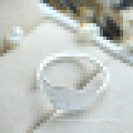 Women′s Sweet 925 Sterling Silver Maple Leaves Ring Small Fresh Art Wind