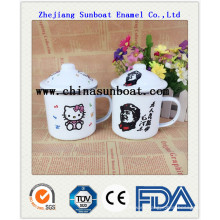 China Factory Enamel Travel Mug