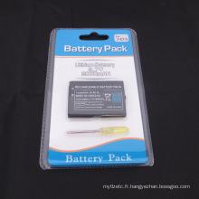 Remplacement de paquet de batterie rechargeable de haute qualité de 2000mAh 3.7V pour Nintendo 3DS