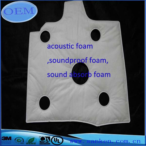 acoustic soundproof absorb foam 02