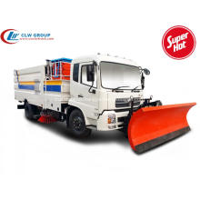 Dongfeng truck mounted snow sweepers & high-altitude platform