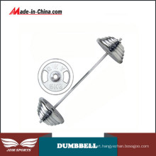 Cast Iron Electroplating Free Combination Olympic Barbell Set