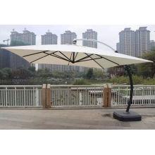 Royal Hotel Outdoor Patio Umbrella Hanging Advertising Parasol Sunshade White Sunbrella Canopy
