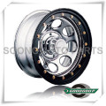 """Soft 8-Beadlock Wheels GS-104-2 Steel Wheel from 15"""" to 17"""" with different PCD, Offset and Vent hole"""