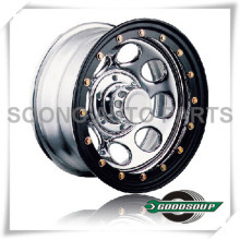 "Soft 8-Beadlock Wheels GS-104-2 Steel Wheel from 15"" to 17"" with different PCD, Offset and Vent hole"