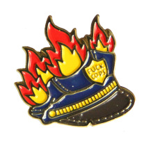 Classic Cops Lapel Pin With Gorgeous Design
