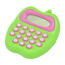 8 Digit Cute Apple Shape Calculator for Children
