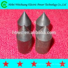 Folheado de boa qualidade forte corrosão resistência produto cobre vergalhão em aço inoxidável cobre solda aço chão hastes/terra