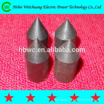 Bonne qualité, résistance à la Corrosion forte produit cuivre plaqués de tiges d'acier inoxydable soudure cuivre acier sol tiges/terre