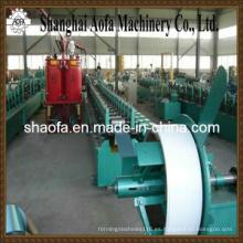 Máquina formadora de rollos puerta PU obturador (AF-P77)