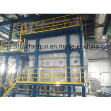 Natural Gas Heating Fluid Bed Dryer for Salt Chemical Product
