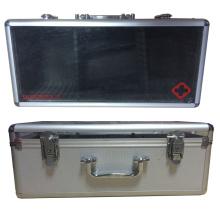 Boîtier d'aide en aluminium Firsr avec couvercle supérieur en acrylique